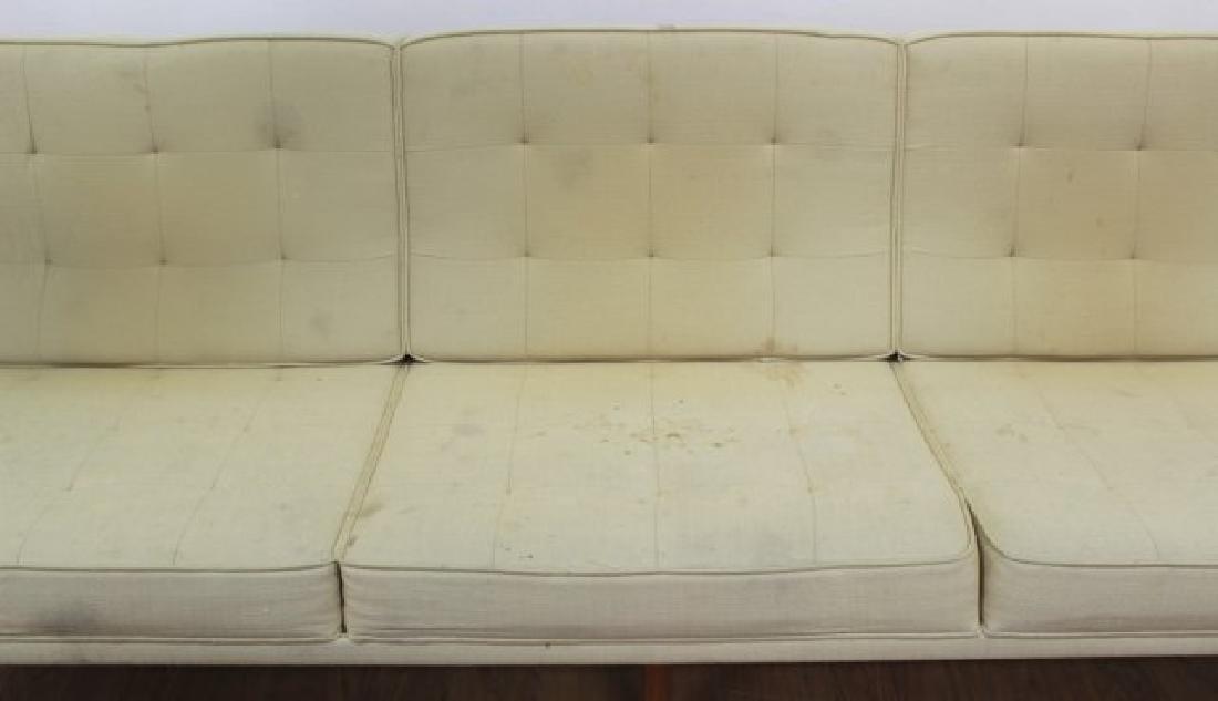 Florence Knoll Walnut Sofa - 3