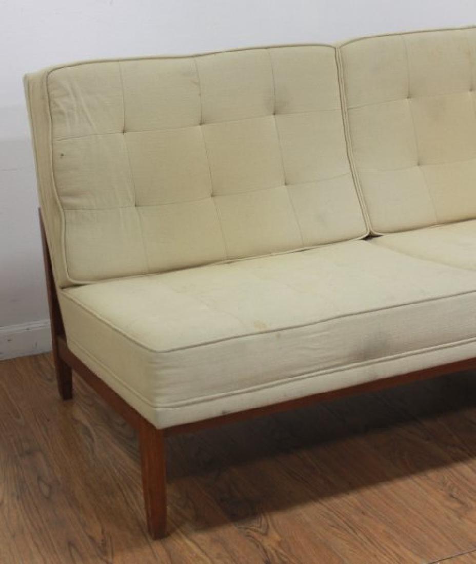 Florence Knoll Walnut Sofa - 4