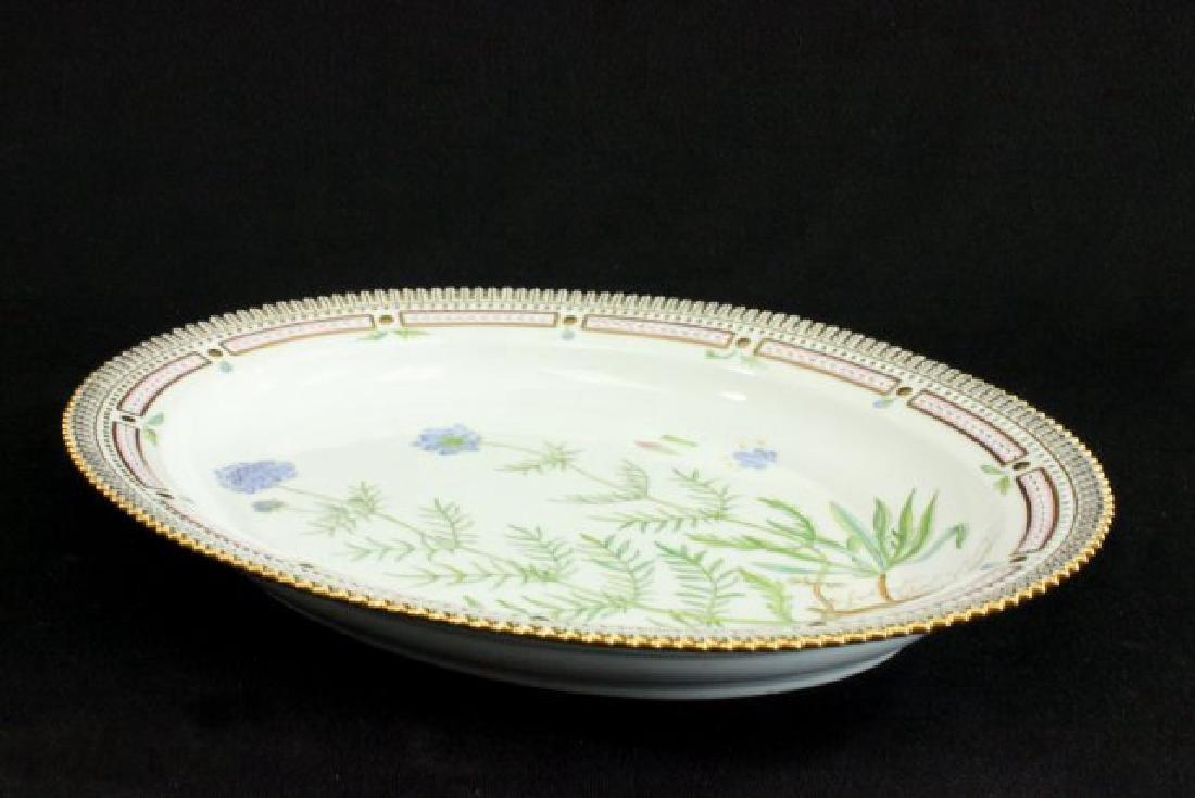 Royal Copenhagen Flora Danica Platter - 3