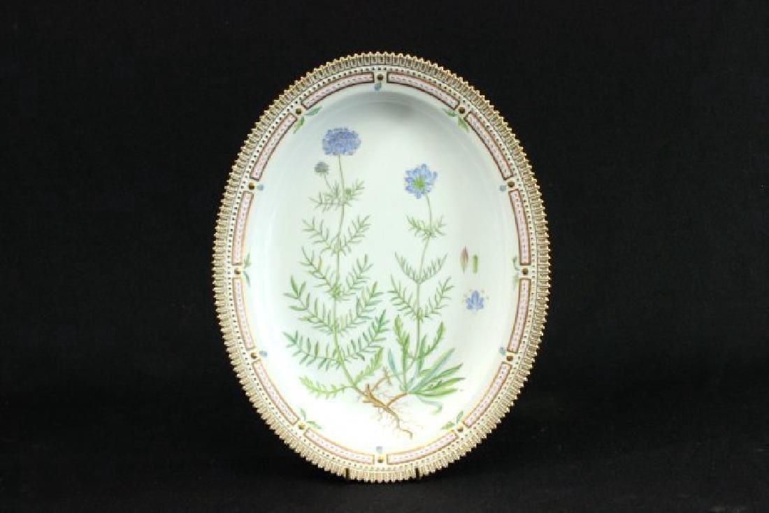 Royal Copenhagen Flora Danica Platter - 4
