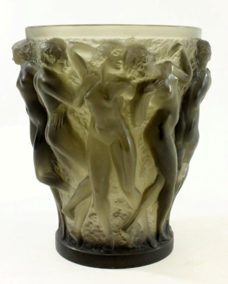 1920s Rene Lalique Bacchantes Vase - 2