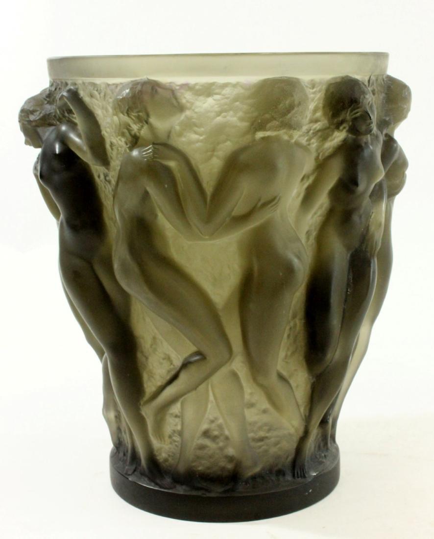 1920s Rene Lalique Bacchantes Vase - 3