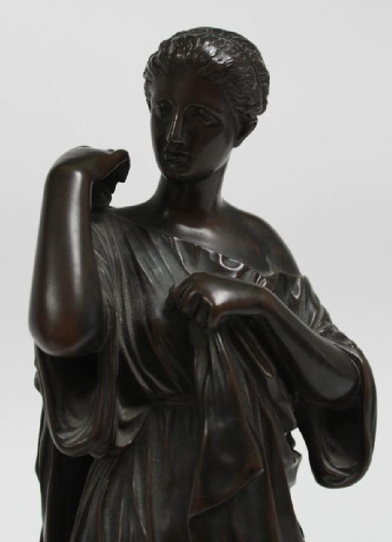 Classical Bronze of Standing Woman - 2