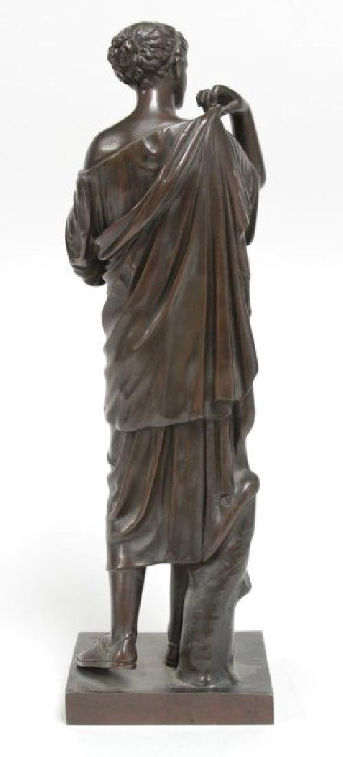 Classical Bronze of Standing Woman - 3