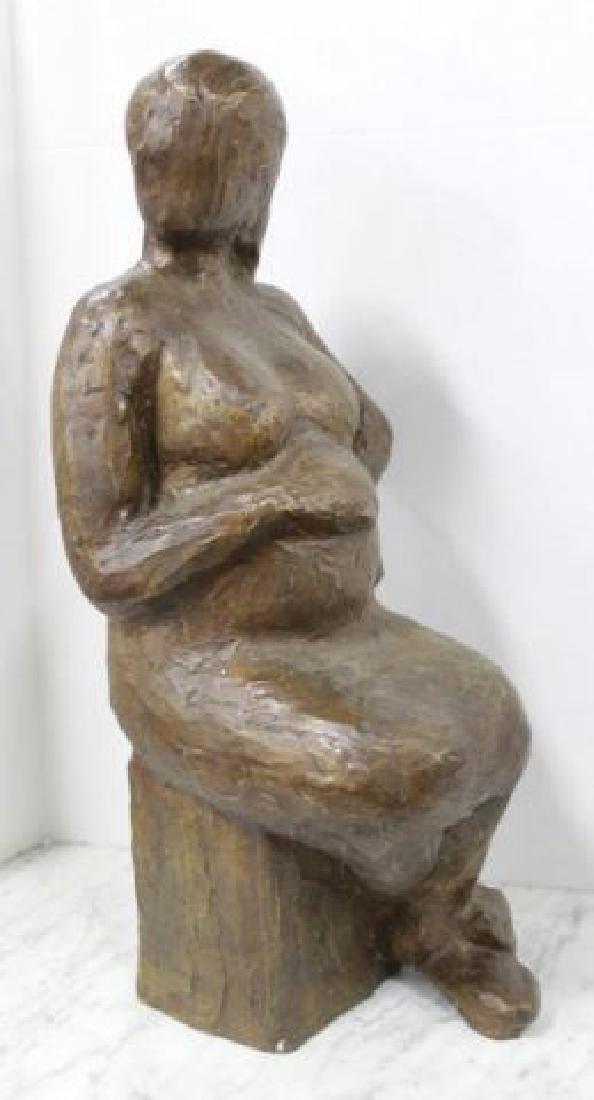 :Victor Salmones, Pregnant Woman