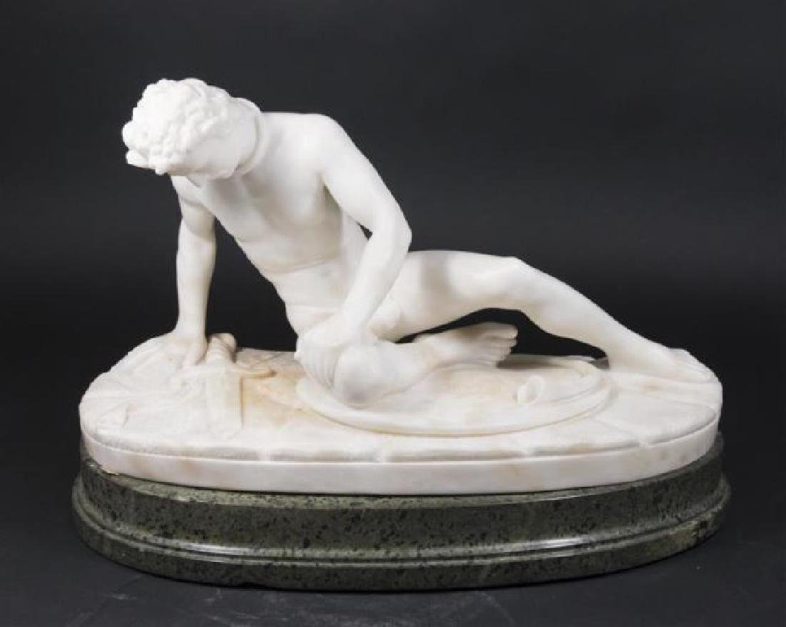 :Alabaster Figure of Dying Gaul