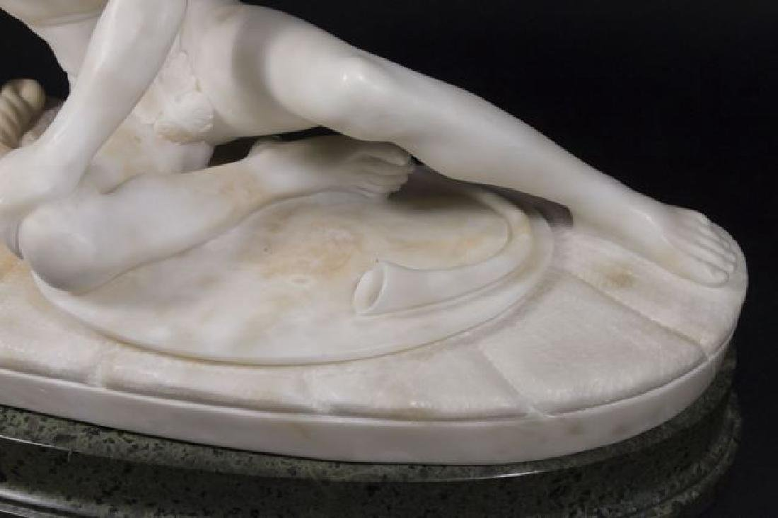 :Alabaster Figure of Dying Gaul - 4