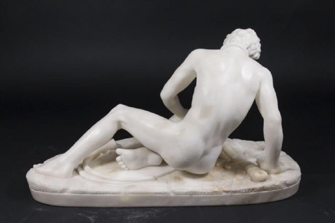 :Alabaster Figure of Dying Gaul - 6