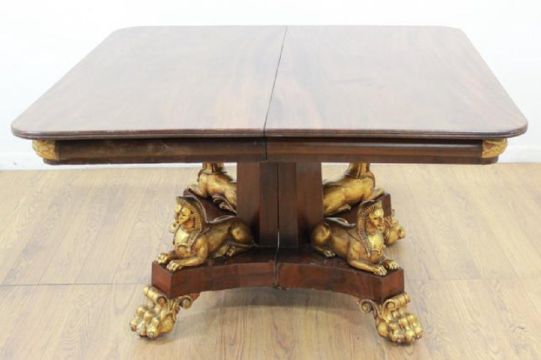 Sphynx Head Dining Room Table