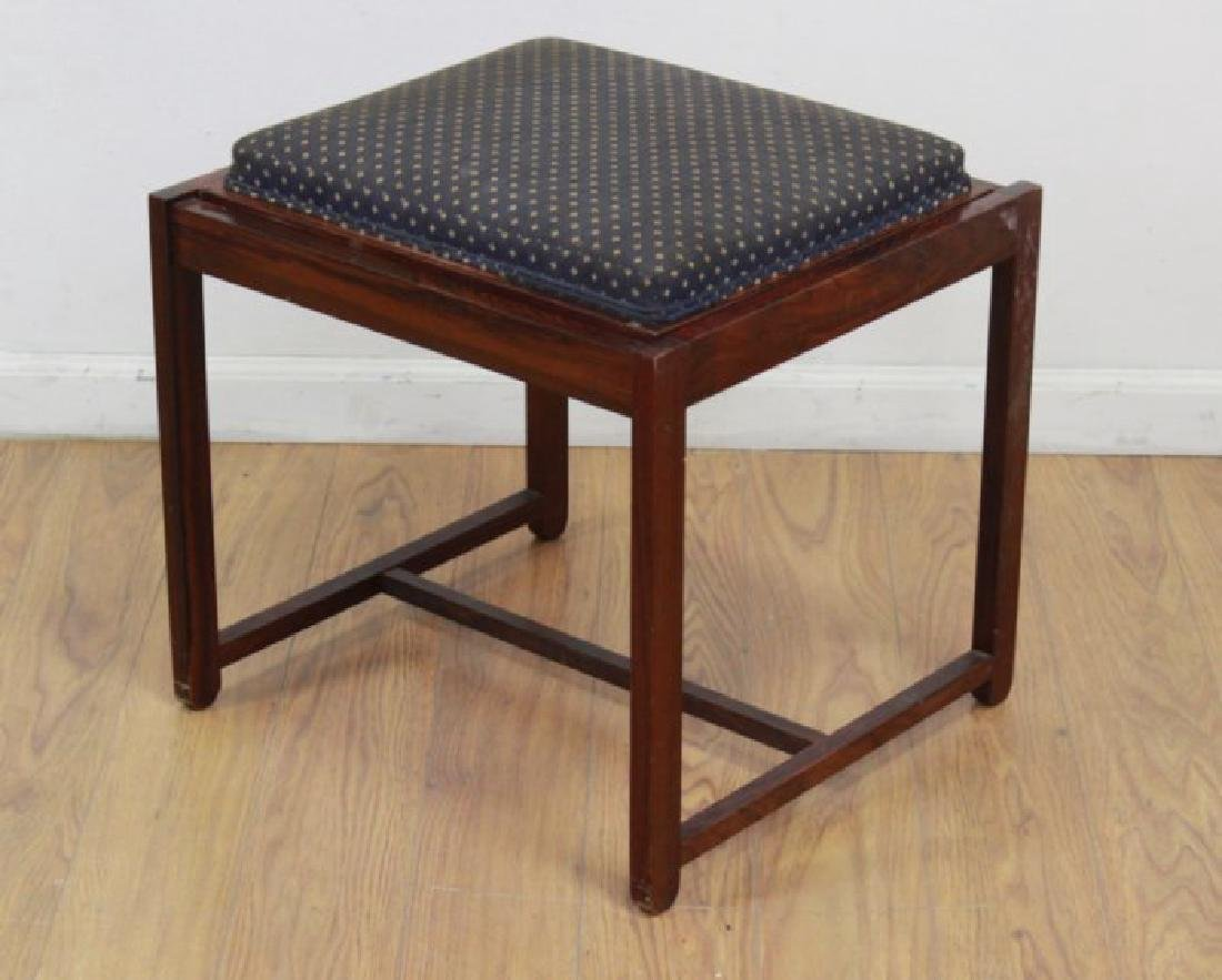 Scandinavian Rosewood Convertible Bench/Side Table