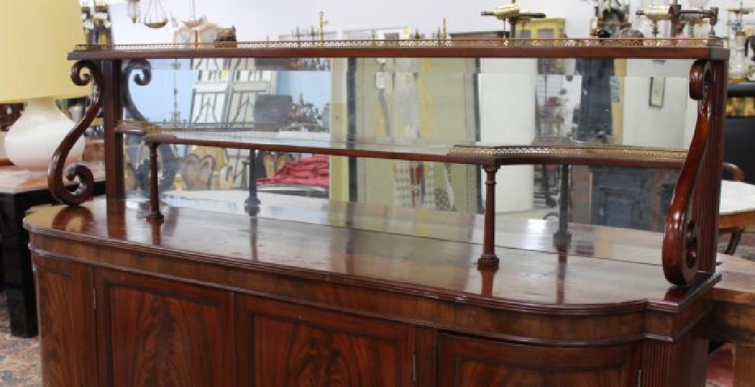 Circa 1930s Regency Style Mahogany Sideboard - 2