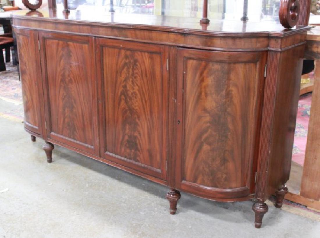 Circa 1930s Regency Style Mahogany Sideboard - 3