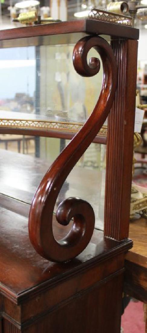 Circa 1930s Regency Style Mahogany Sideboard - 4