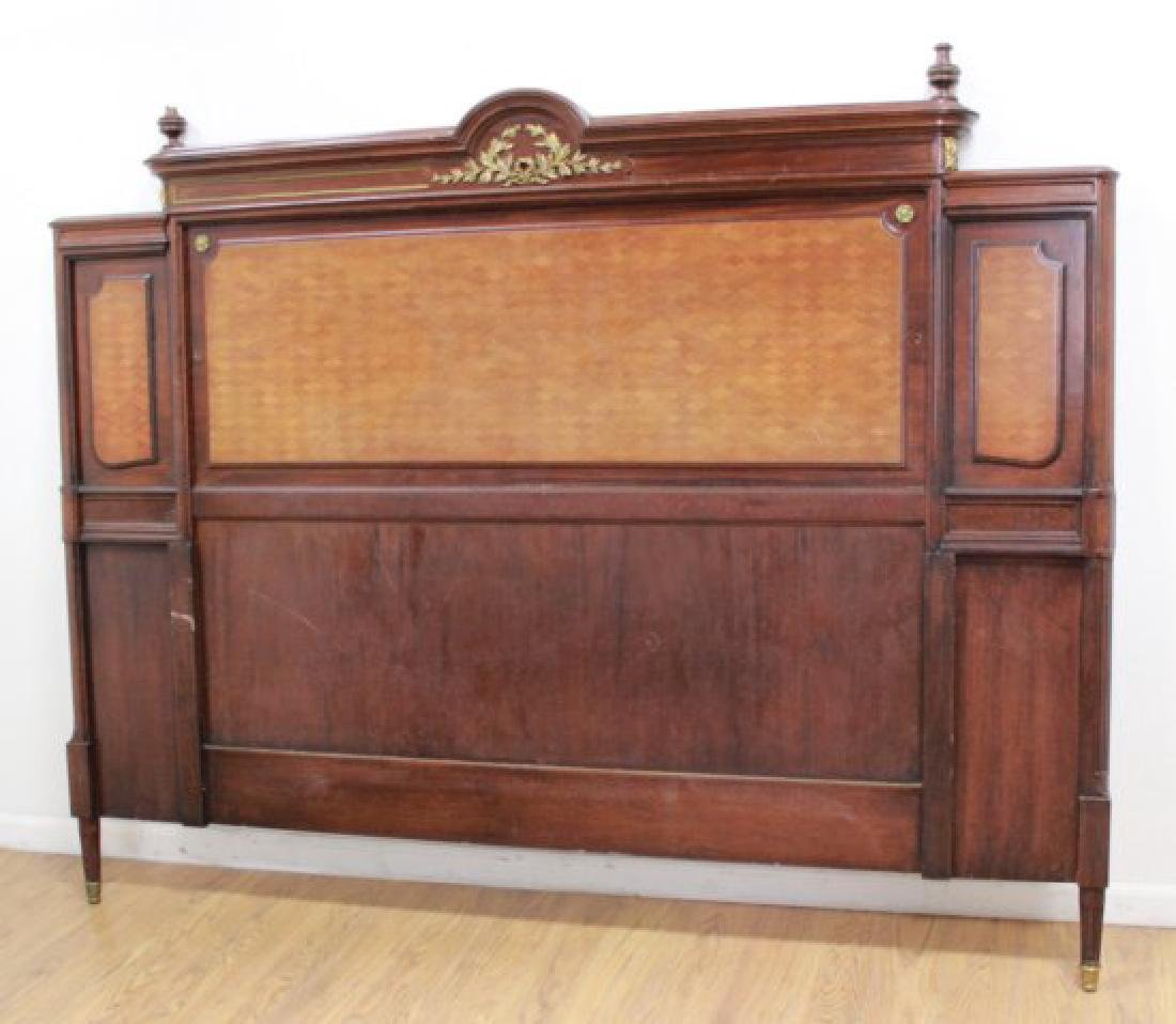 King Size Inlaid French Headboard