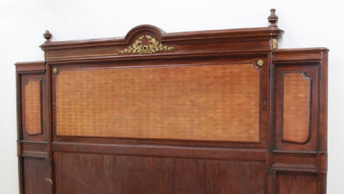 King Size Inlaid French Headboard - 2
