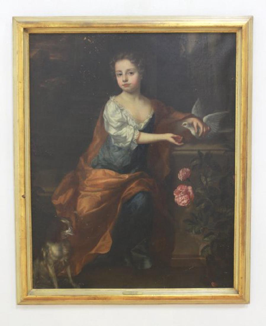 Attributed to Thomas Hill, Portrait of a Girl - 2