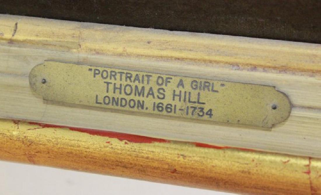 Attributed to Thomas Hill, Portrait of a Girl - 4