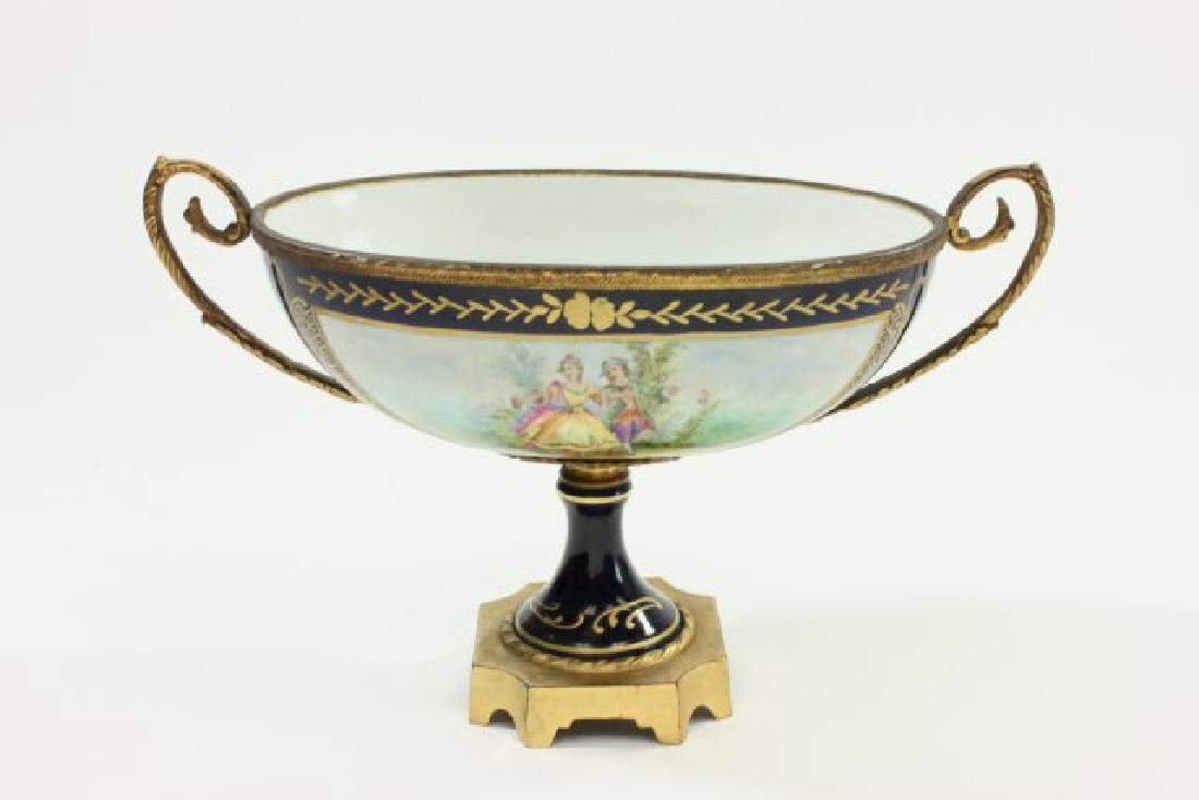 Early 20th Century Sèvres Porcelain Compote