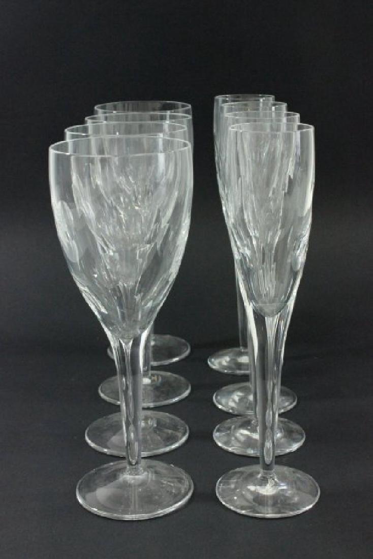 Lot 8 Waterford John Rocha Crystal Glasses