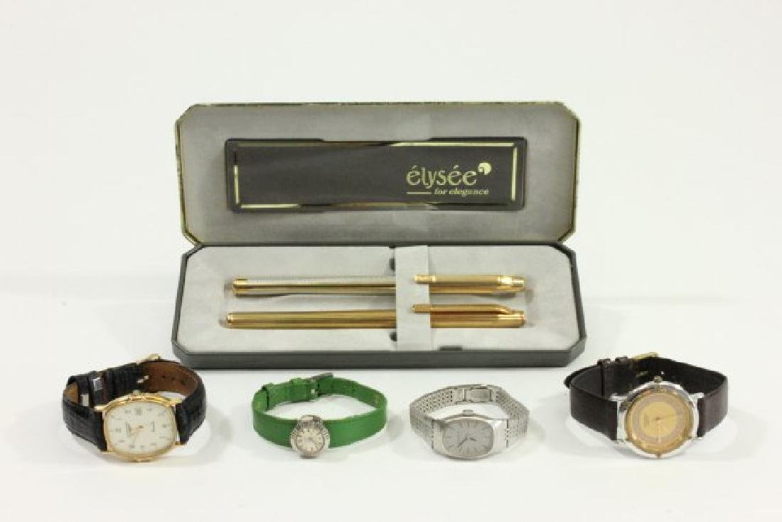 Lot of Watches & Pens
