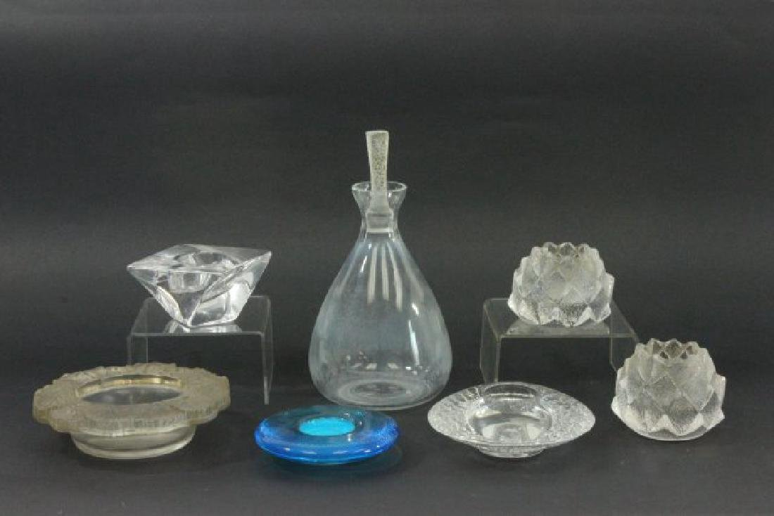 Group Lot 7 Glass Items
