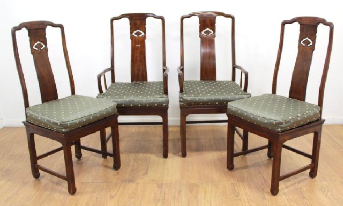 Set 4 Chinese Modern Dining Room Chairs