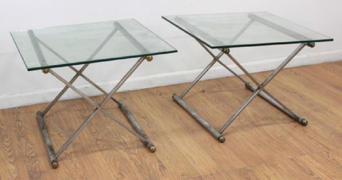 Pair Mid-Century Modern Side Tables