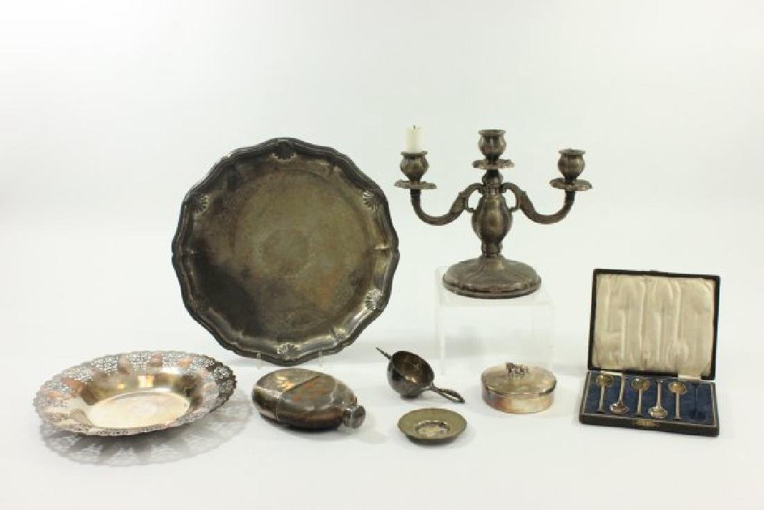 Group Lot Silverplate Items