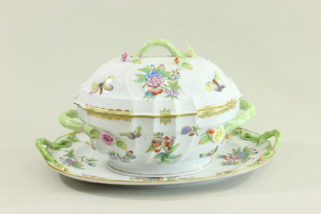 Herend Queen Victoria Pattern Tureen