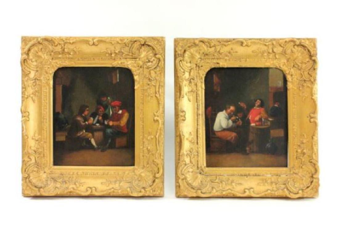 :Possibly by Ferdinand Van Apshoven, Tavern Scenes