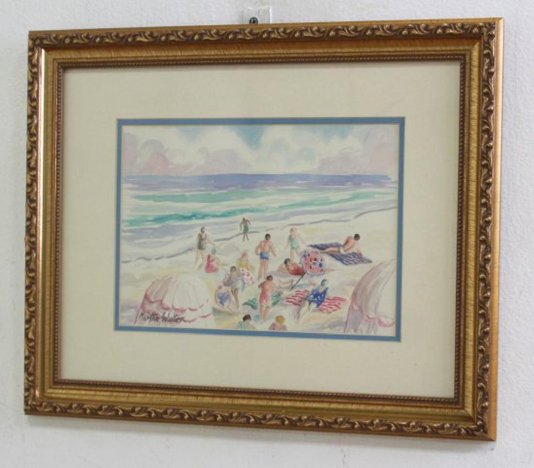 Martha Walter, Beach Scene