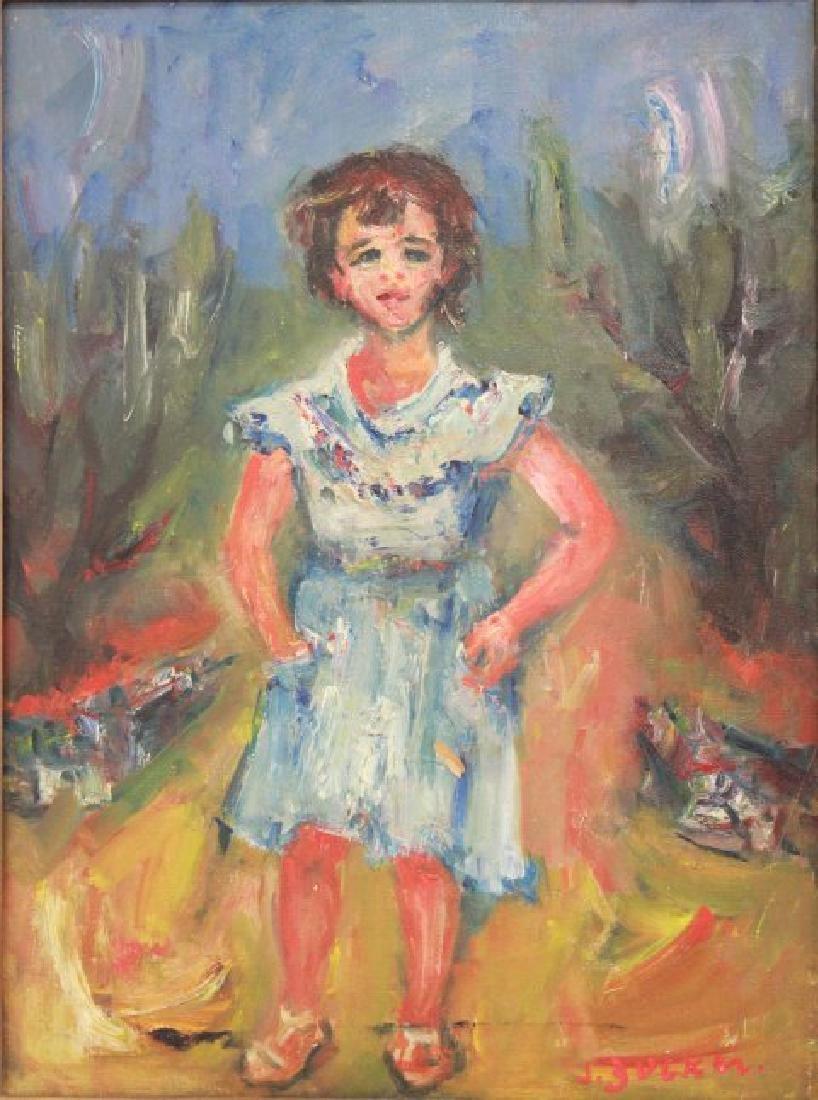 Jacques Zucker, Standing Girl