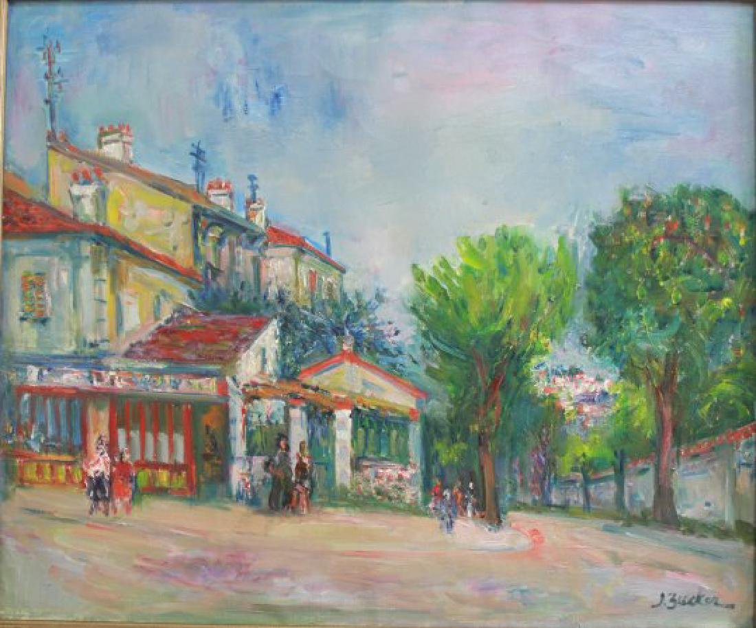 Jacques Zucker, Street Scene