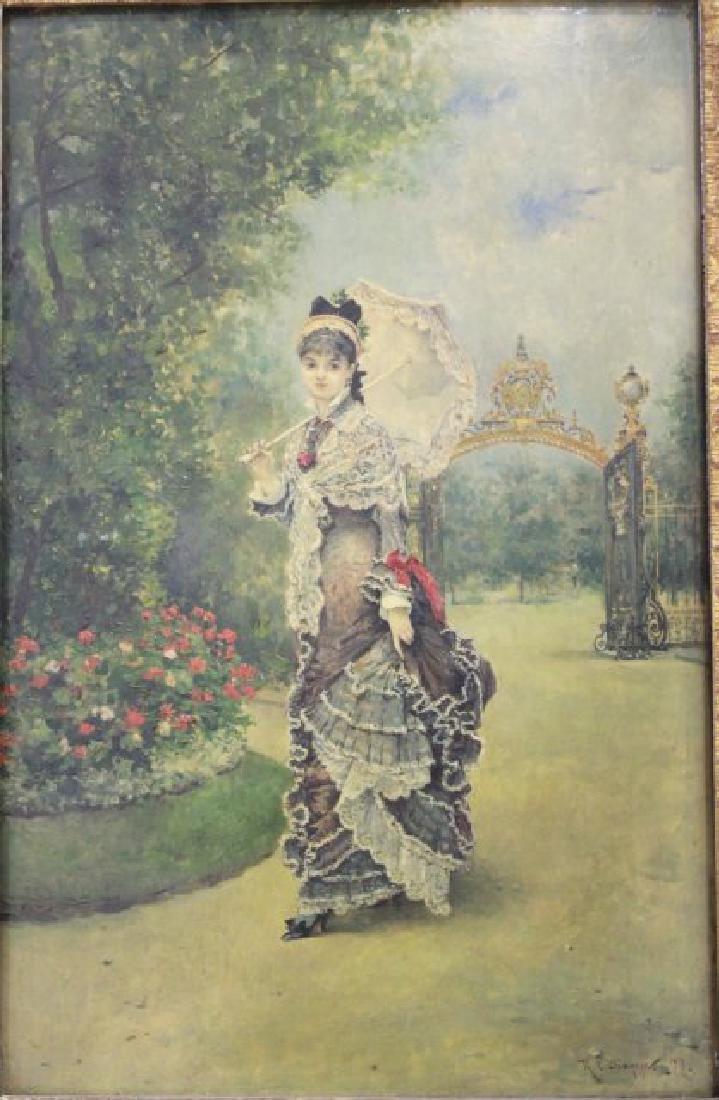 Ricardo C. Diaque, Lady in the Park