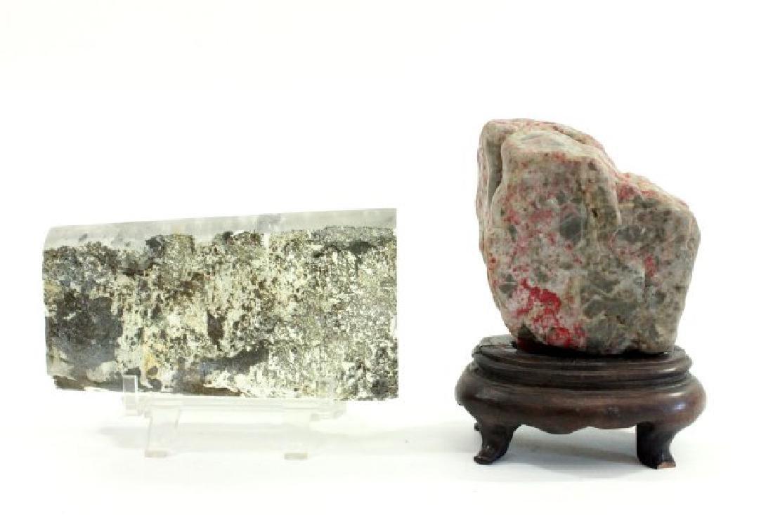 Rock Crystal & Chicken Bloodstone