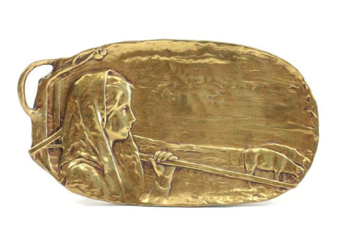 Peter Tereszczuk Bronze Figural Plaque