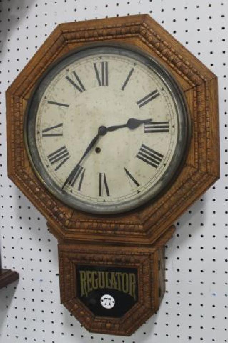 :Regulator Clock Case & Oak Regulator Clock