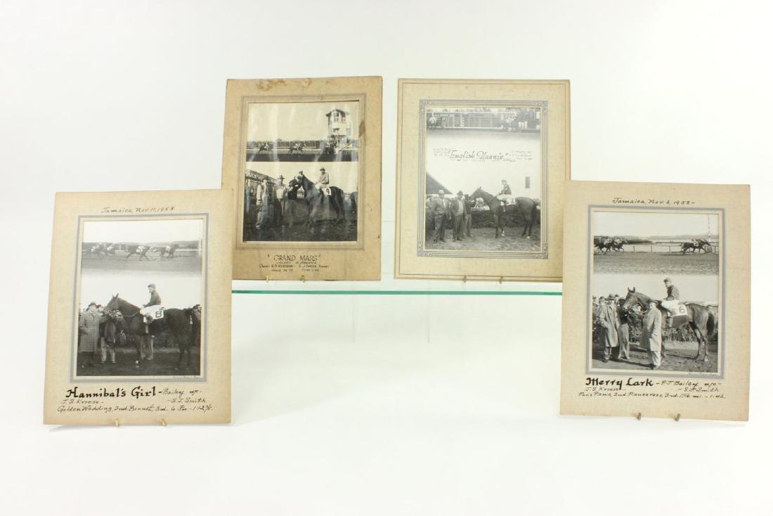 4 Horseracing Jockey Photos from the 1950s-60s