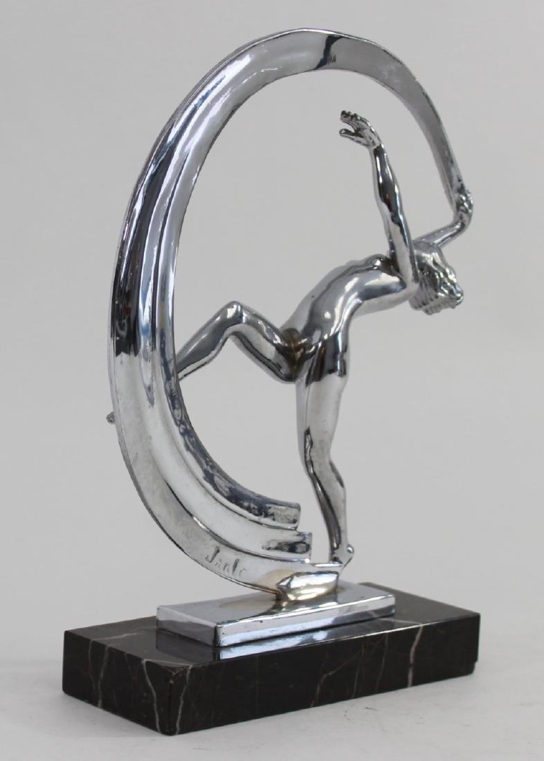 Metal Figure of Scarf Dancer - 2