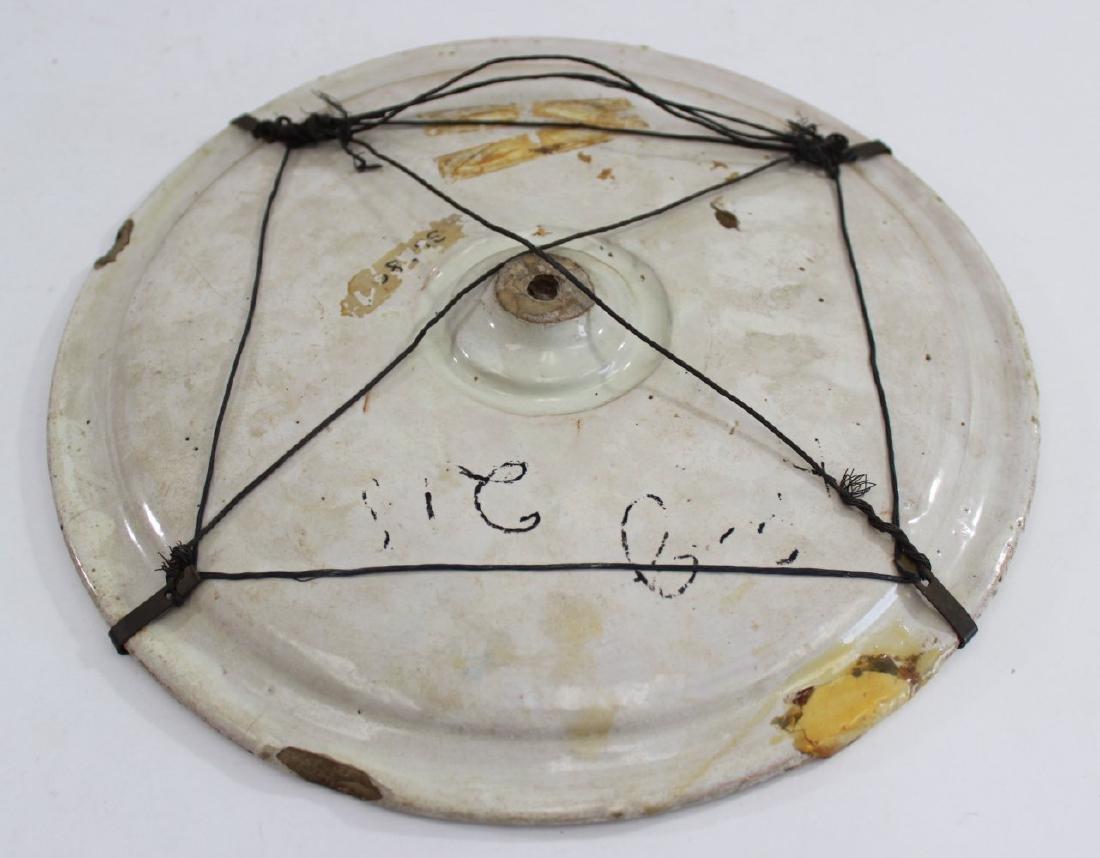 Majolica Plate - 3