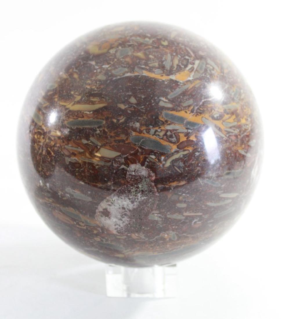 Pair Marble Balls/Spheres - 3