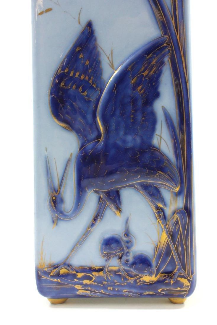 W. Guerin & Co. Limoges Porcelain Vase - 4