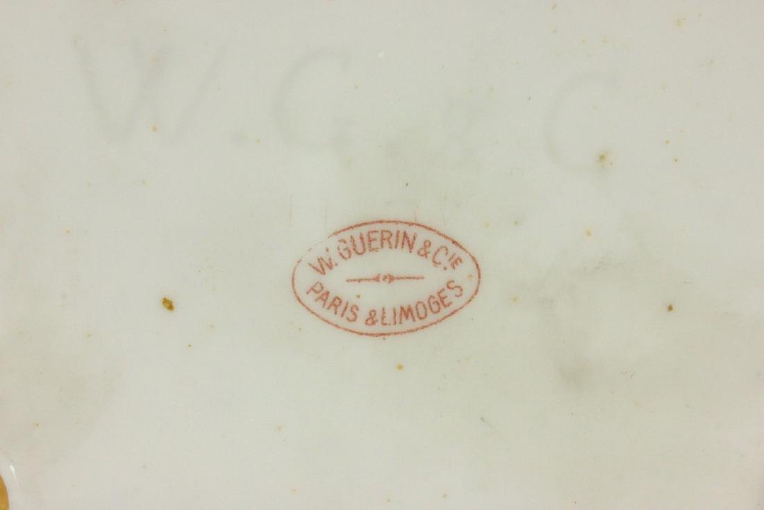 W. Guerin & Co. Limoges Porcelain Vase - 5