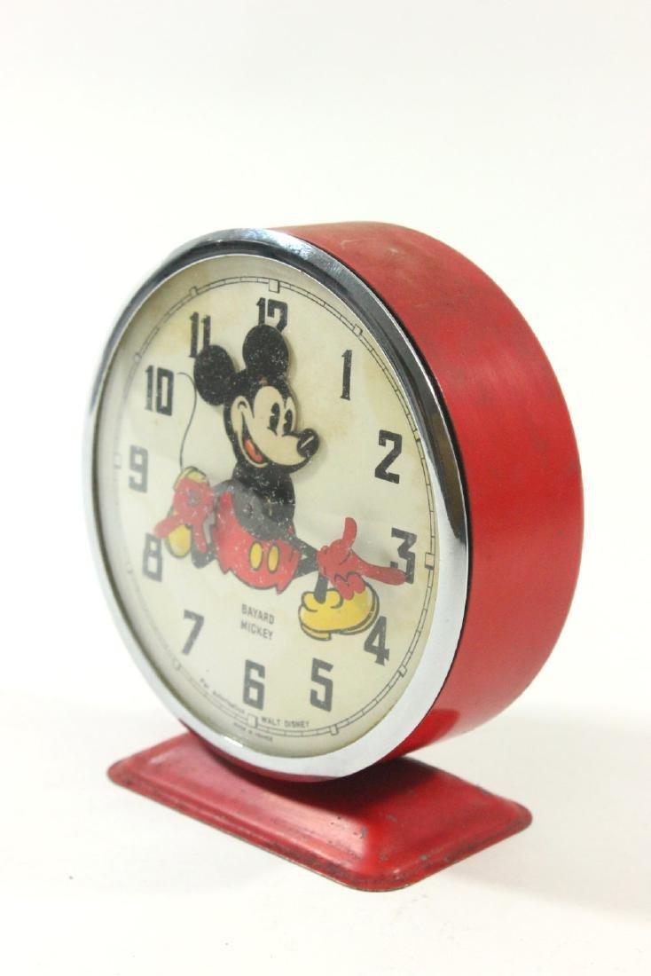 1960s Bayard Mickey Mouse Disney Alarm Clock