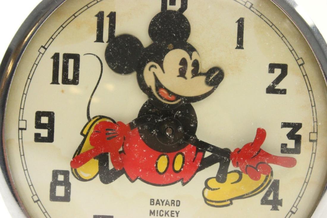 1960s Bayard Mickey Mouse Disney Alarm Clock - 2
