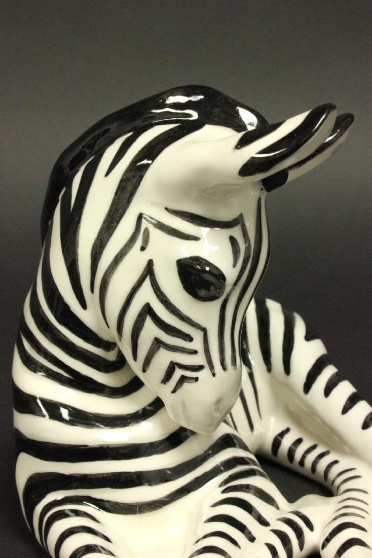 Russian Porcelain Zebra - 3