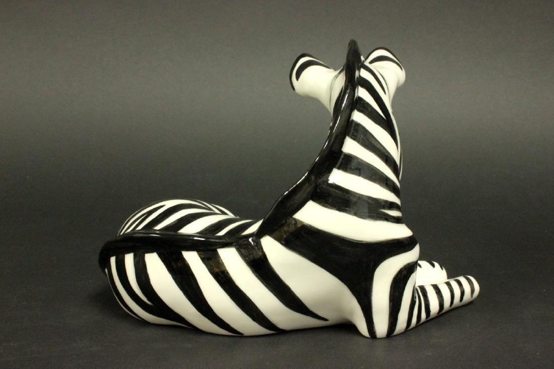 Russian Porcelain Zebra - 4