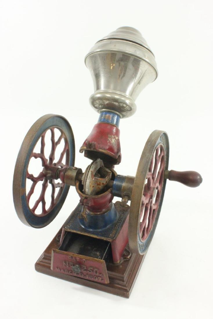Antique Coffee Grinder - 4