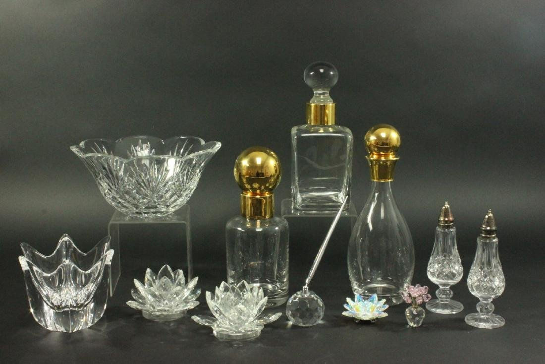 Group Lot of 12 Glass Items