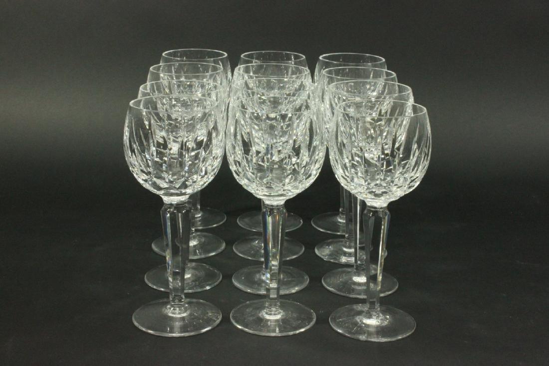 Set 12 Waterford Kildare Wine Glasses